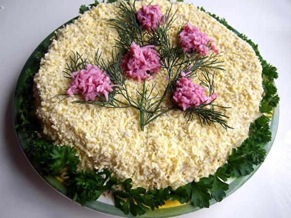 Украшения для салатов просмотр фото
