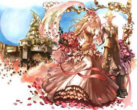Фотография Lineage 2 Свадьбе Платье Игры