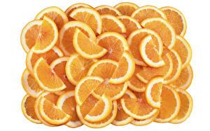 Фотографии Фрукты Цитрусовые Апельсин Много
