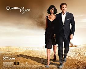 Обои Агент 007. Джеймс Бонд Квант милосердия