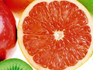 Обои Фрукты Цитрусовые Грейпфрут Еда