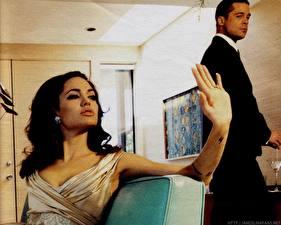 Фото Анджелина Джоли Brad Pitt