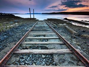 Фотография Железные дороги Рельсах