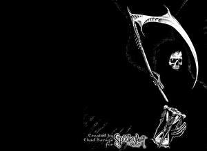 Фотография Готические Смерть Коса (оружие) Фантастика