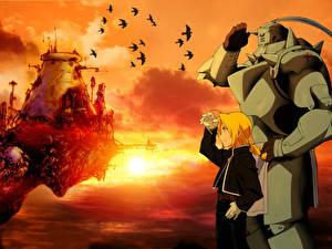 Обои Full Metal Alchemist Аниме