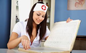 Картинки Медсестра Девушки