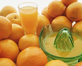 Картинки Фрукты Цитрусовые Апельсин