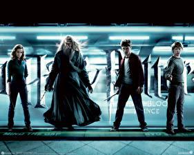 Картинка Гарри Поттер Гарри Поттер и Принц-полукровка Дэниэл Рэдклифф Emma Watson Руперт Гринт Кино