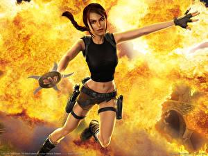 Картинки Tomb Raider Tomb Raider Anniversary