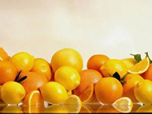 Обои Фрукты Цитрусовые Апельсин