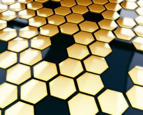 Фото Пчелиные соты