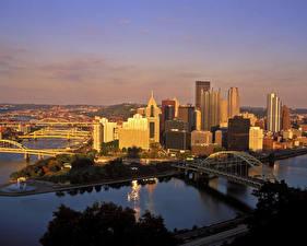 Фотография Дома США Пенсильвания Питсбург город