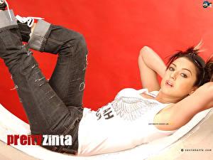 Фотография Индийские Прити Зинта