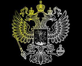 Картинка Россия Герб Двуглавый орёл