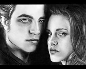 Картинка Сумерки. Сага Сумерки Robert Pattinson Kristen Stewart