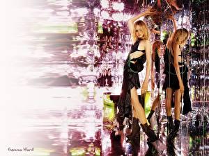 Обои Gemma Ward Знаменитости