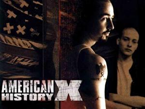 Обои для рабочего стола Американская история Х кино
