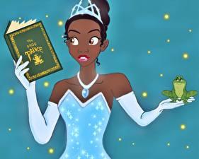 Обои для рабочего стола Disney Принцесса и лягушка Мультики