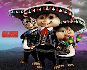 Обои Элвин и бурундуки Alvin and the Chipmunks Мультики фото