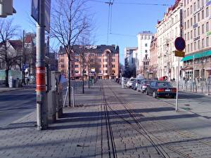 Обои Дома Финляндия Хельсинки