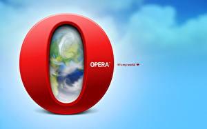 Обои Opera Компьютеры