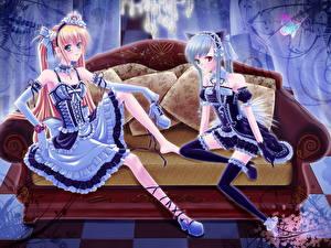 Обои Pixiv Girls Collection Аниме Аниме