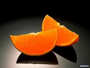 Фотография Фрукты Цитрусовые Апельсин Пища