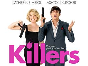 Обои Киллеры Ashton Kutcher Фильмы