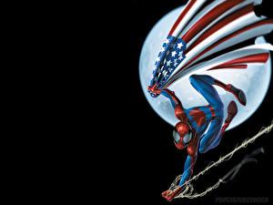 Обои Человек паук Мультики
