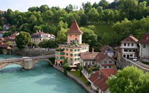 Фото Здания Швейцария Берн