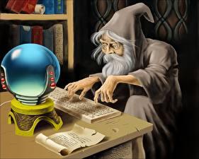 Фотография Магия Маг волшебник Фэнтези