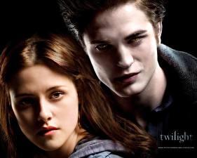 Обои Сумерки. Сага Сумерки Robert Pattinson Kristen Stewart
