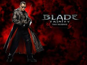 Обои Блэйд Блэйд 3: Троица Wesley Snipes