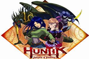 Обои Хантик - Искатели секретов Мультики