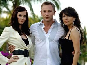Обои Daniel Craig Ева Грин