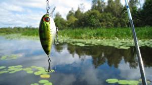 Обои Рыбалка Удочка Природа