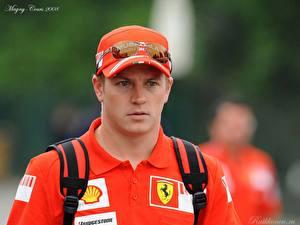 Обои для рабочего стола Формула 1 Kimi Raikkonen Спорт