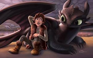 Обои Как приручить дракона Мультики