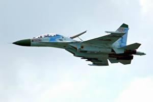 Картинка Самолеты Су-27 Авиация