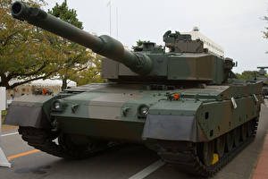 Картинка Танки Японские Mitsubishi Type 90 Армия