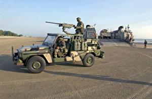 Картинки Боевая техника Мерседес бенц G-класс G-Klasse KSK Армия