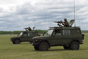 Картинка Боевая техника Mercedes-Benz Гелентваген G-Wagon Армия