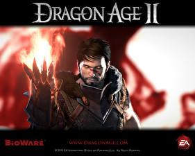 Картинка Dragon Age Dragon Age II Колдун Игры