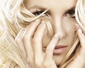 Обои Britney Spears Пальцы Музыка фото