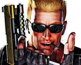 Фото Duke Nukem Forever Сигара с сигарой и пистолетом Игры