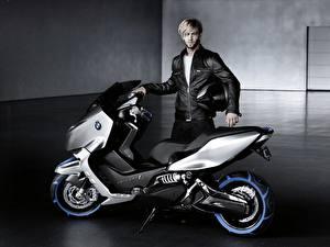 Обои Мотороллер BMW Scooter C Concept