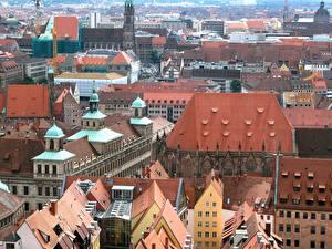 Картинка Германия Нюрнберг Города