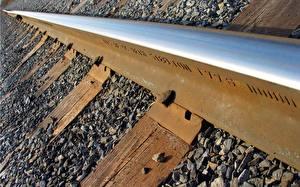 Картинка Железные дороги Рельсах