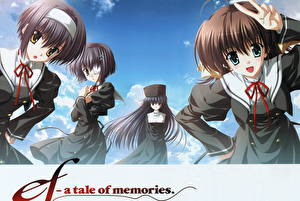Обои Ef - a tale of memories Аниме
