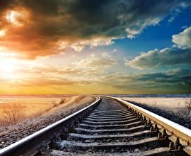 Обои Железные дороги Рельсах
